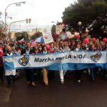 marcha por la vida en Bahía Blanca